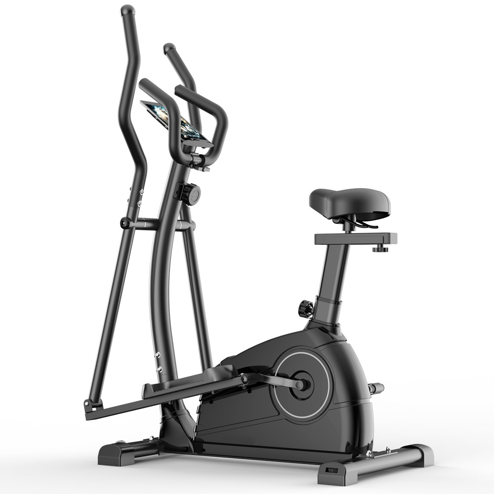 Display Model BT20090101 BIKE-ELLIP-AX-QM1001-BLK Exercise Bike Elliptical Cross Trainer BNE Store ONLY