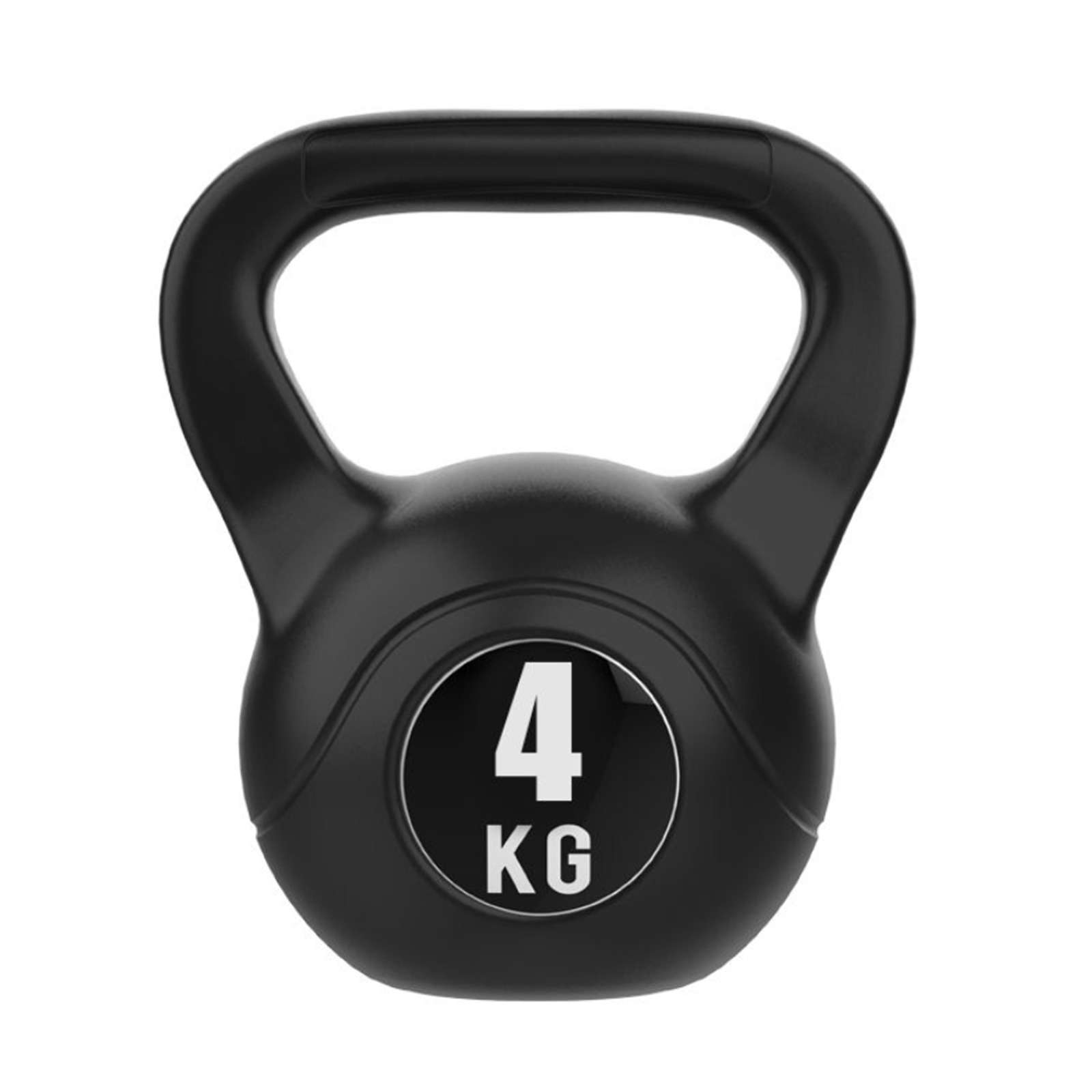 JMQ 4KG Kettlebell Kettle Bell Weight Exercise Home Gym Workout