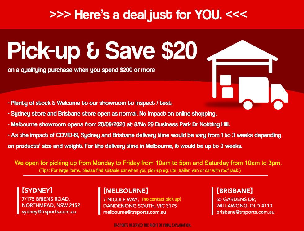 pickup and save