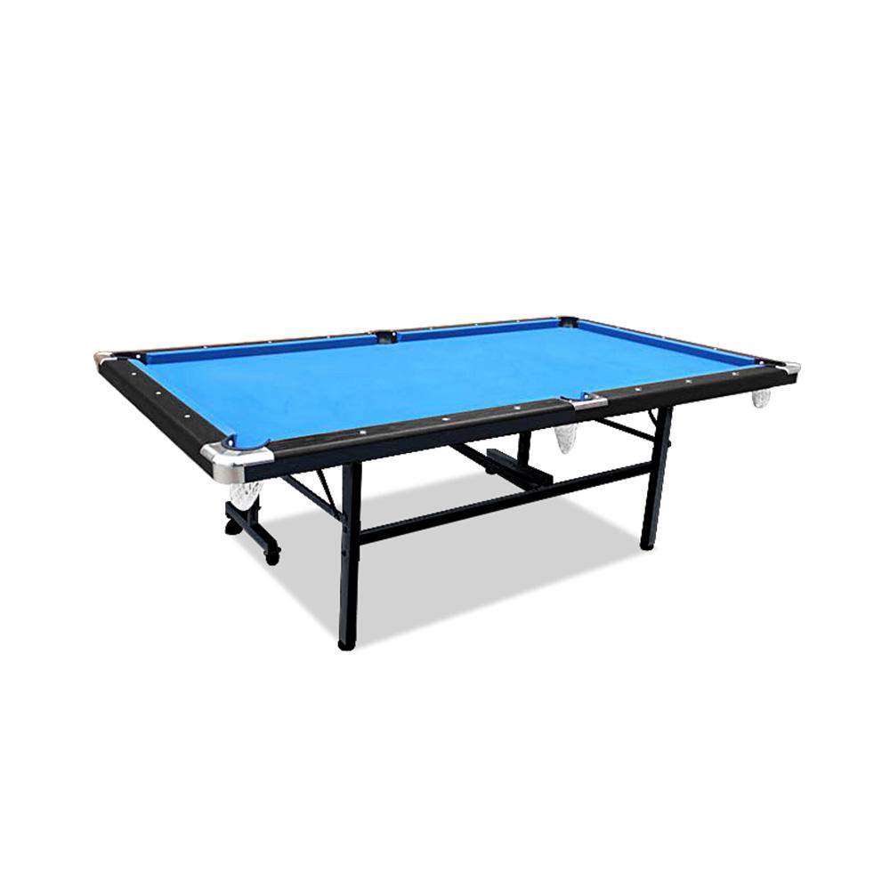 2019 New Model 7FT Blue Foldable / Fold Away Pool Billiard Table Free Accessory