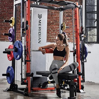K9 Smith Machine Body Soild Body building Olympic Bar Adjustable Machines