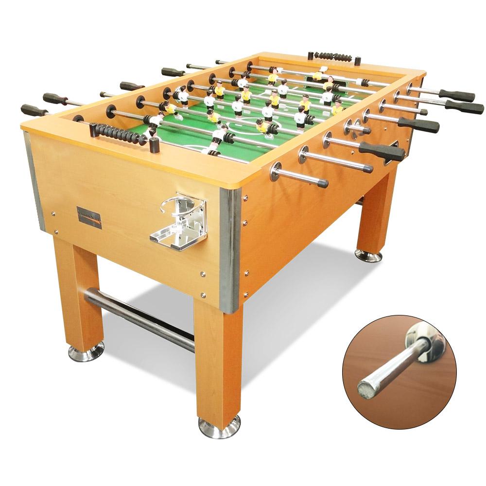 T&R sports 5FT Foosball Soccer Table Walnut