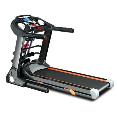 JMQ Fitness SP6612 Folding Incline Treadmill w/ Multi-functional Accessories