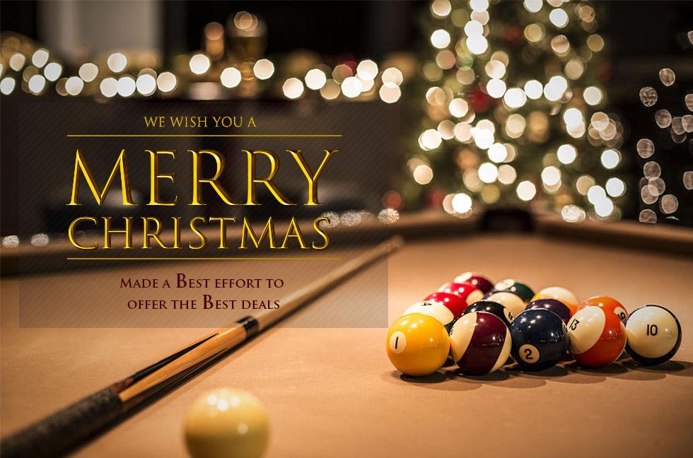 Pool Table christmas gift