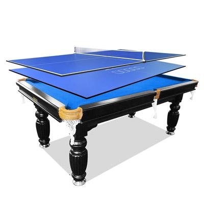 8ft Slate Pool Table Table Tennis Poker Top
