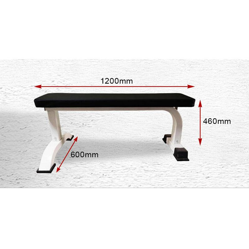 JMQ Fitness RBT105 Flat Bench Weight Press