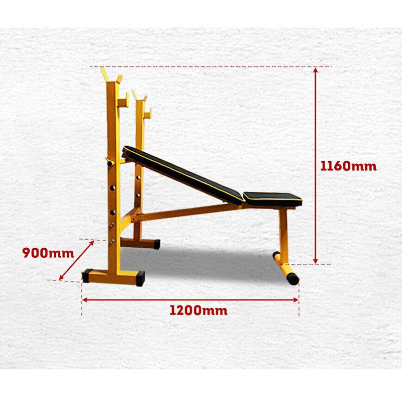 JMQ Fitness RBT310A Foldable Weight FID Bench Press