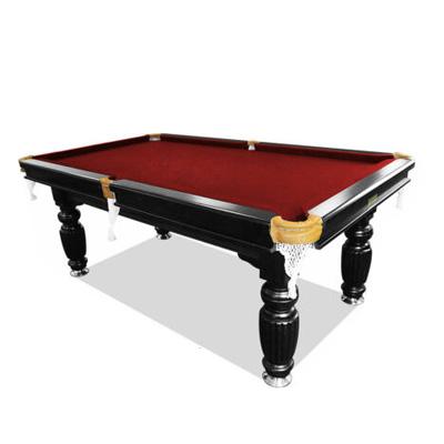 7ft luxury burgundy slate pool/billiards/snooker table