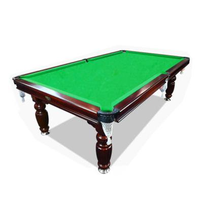 7ft Mahogany Green Slate Pool Table