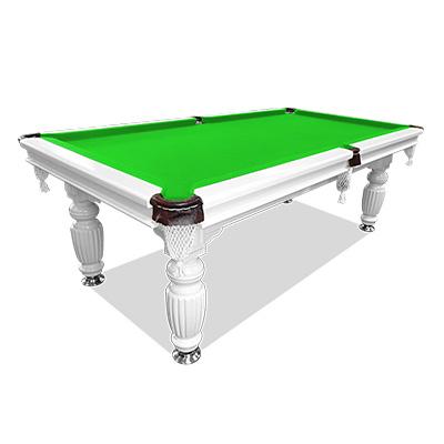 7ft green felt slate solid pool table